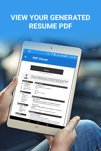 resume builder ratings