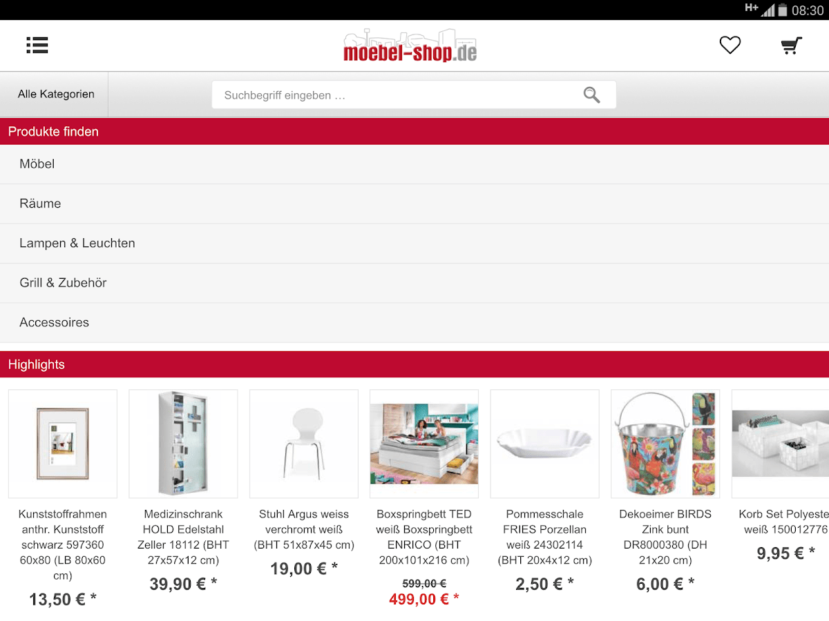 Möbel Online Shoppen Moebel Shop De Android Apps On Google Play