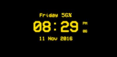 Pixel Digital Clock Live Wallpaper - Apps on Google Play