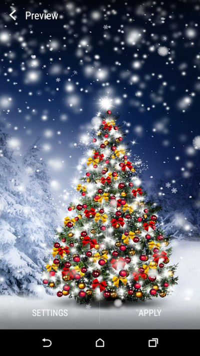 Christmas Tree Live Wallpaper - Android Apps on Google Play