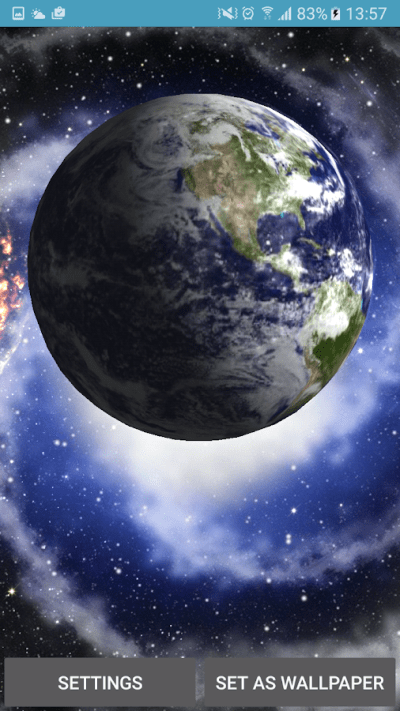Planet Earth 3D Live Wallpaper - Android Apps on Google Play