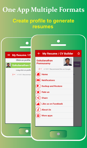 my resume app download