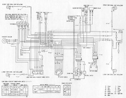 honda ct70 h wiring diagram