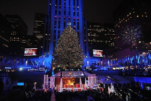 Rockefeller Center Tree Lighting Channel Rob Speyer - Google+