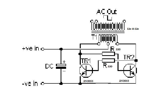 dc to ac inverter circuit diagram pdf
