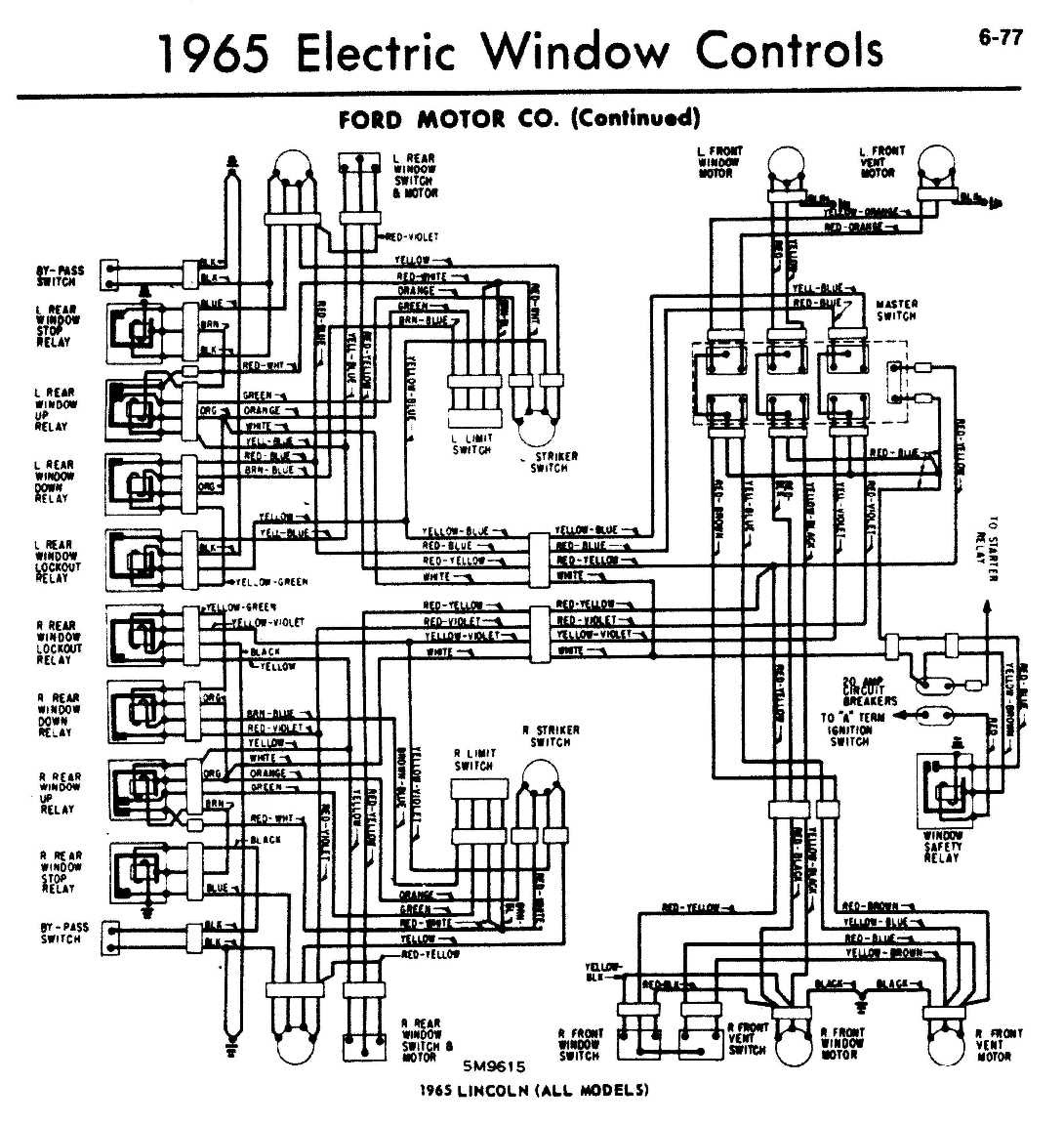 wiring diagram for lincoln mark 4 1976