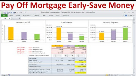 additional principal mortgage calculator