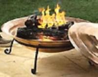 """Bluiren: Order 30"""" Copper Fire Pit & Screen & Lid"""