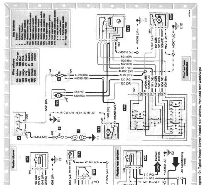 citroen h van wiring diagram