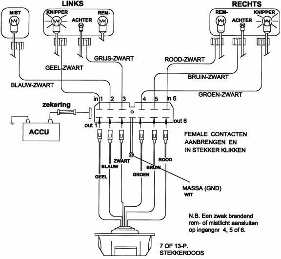ascari cars bedradingsschema van een