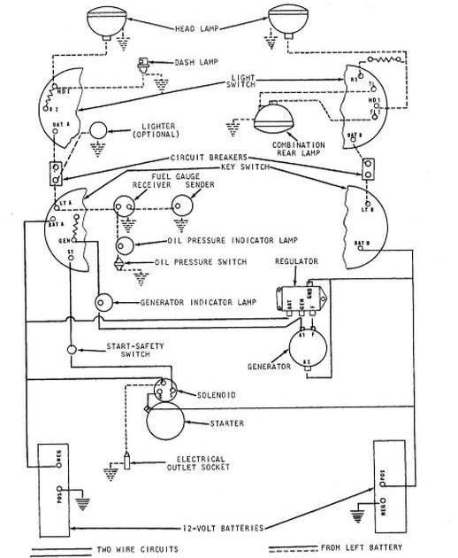 John Deere 4020 24 Volt Wiring Diagram