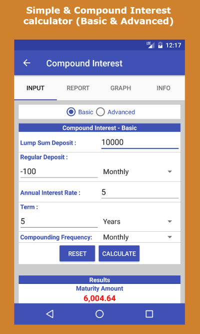 Loan & Interest Calculator - Android Apps on Google Play