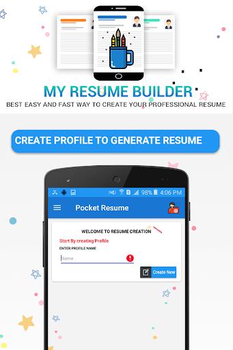 resume builder app for pc