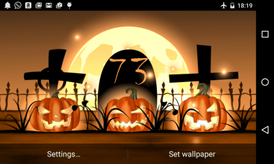 Halloween Live Wallpaper Light - Android Apps on Google Play