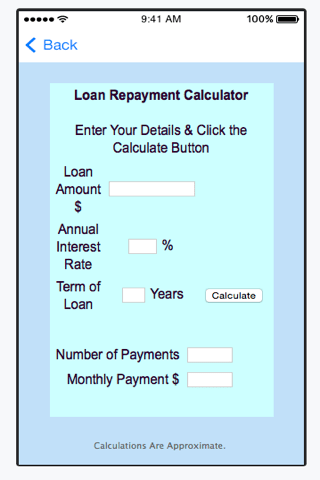 Personal Loan Calculator - Android Apps on Google Play