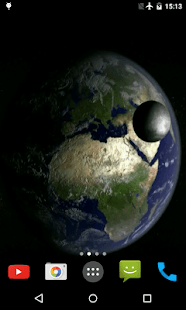 Earth and Moon Live Wallpaper - Android Apps on Google Play