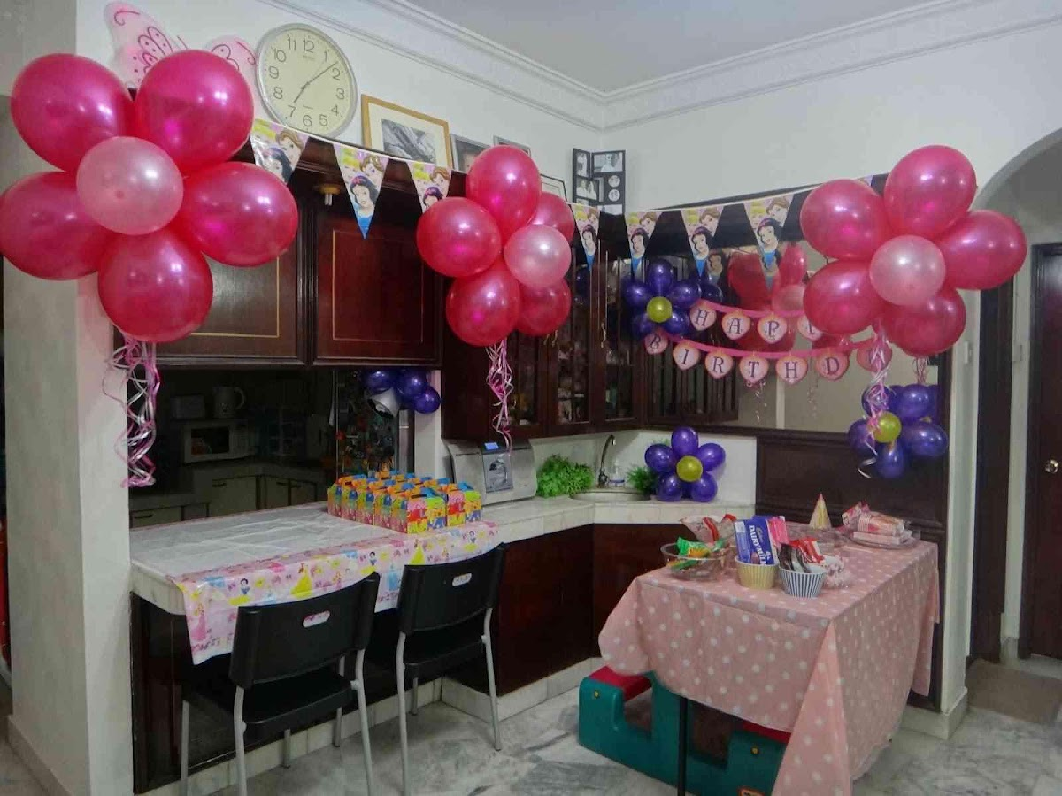 Home birthday decoration screenshot
