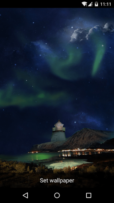 Amazing Aurora Live Wallpaper - Android Apps on Google Play