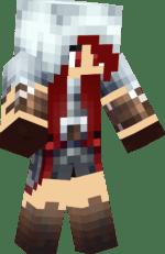 Minecraft Assassin Girl Skin