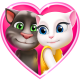 Cartas de amor de Talking Tom pc windows