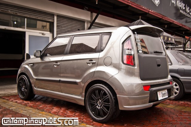 Atoy Customs Kia Soul Body Kit Rear Quarter Custom Pinoy Rides