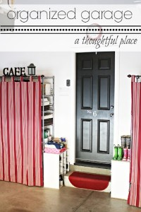 Home For4 Sweet Home: Garage Organization Ideas