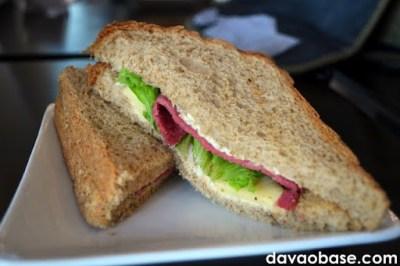 Farmer's Ham & Cheese Sandwich at Coffee Dream