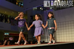 Girls wear during the Style Origin Fashion Show at Abreeza