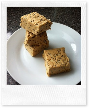 No Bake Protein Bars chia