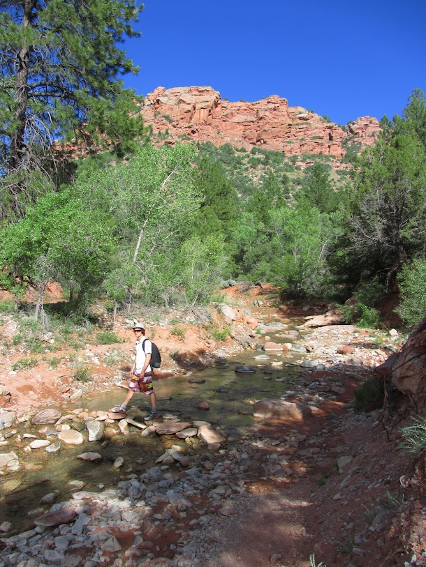 Crossing Taylor Creek
