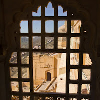 view from Amber fort in Jaipur