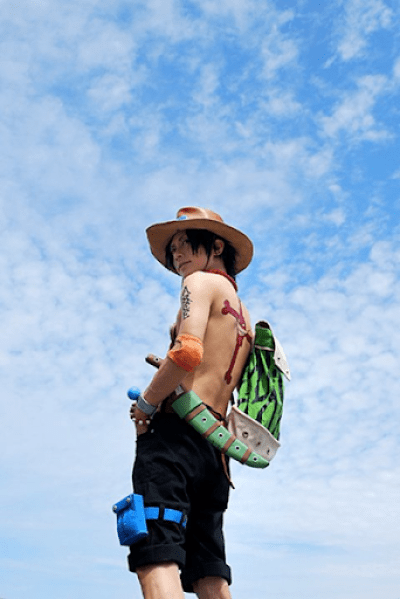 Kaname☆ - Portgas D. Ace One Piece Cosplay