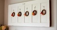 The Monday Blog: Old Door Wall Art & Fall Decor
