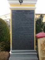 historia Guzowa na kamieniu wykuta