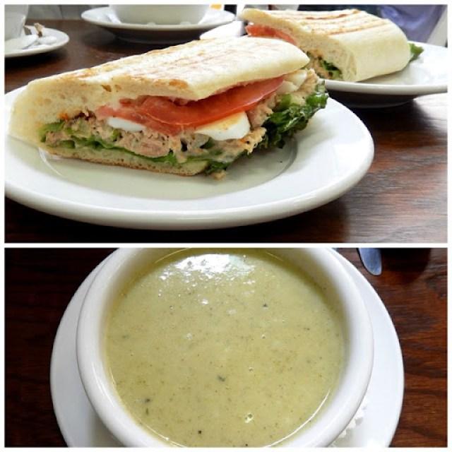 tuna sandwich soup