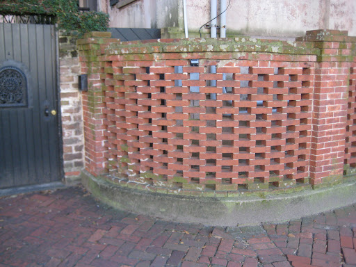 Terracotta Tile Wall Chicago Botanic Gardens Pinterest - concrete wall design example