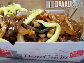 BonChon Chicken Chapchae (Korean-style noodles)