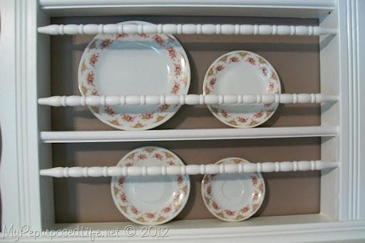 Repurposed Crib Into Plate Rack My Repurposed Lifer