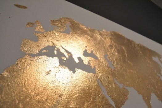 gold leaf closeup Europe