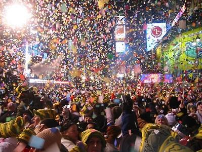 Año Nuevo 2013 en VIVO online Times Square