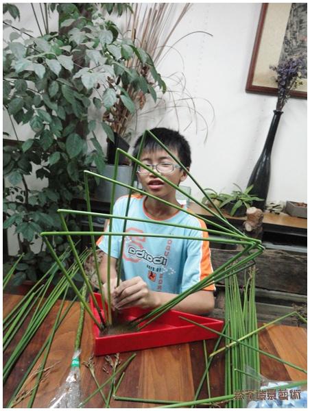 草月流插花教室│2011年6月份課程