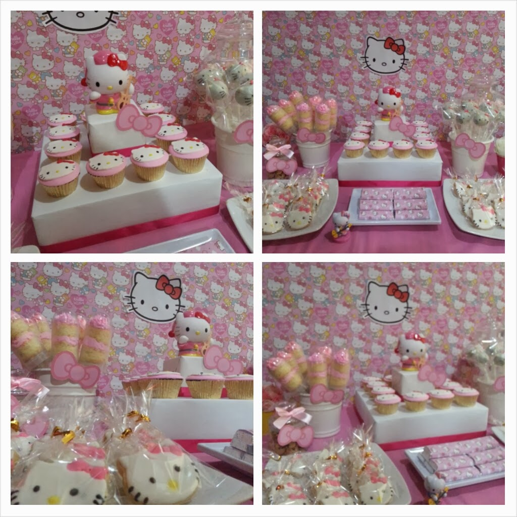 Serba Hello Kitty Spatula And Friends Hello Kitty Dessert Table