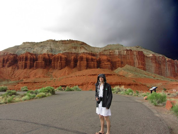 Taking Photographs - Capitol Reef