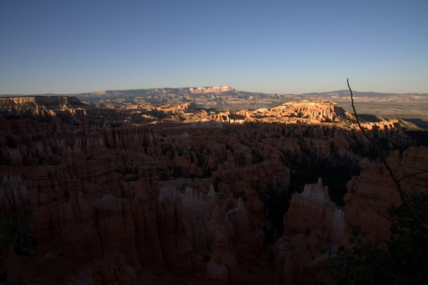 Last Rays Touching Bryce Canyon
