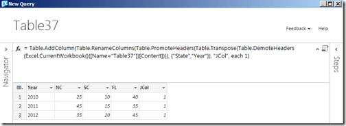Add join column to second table