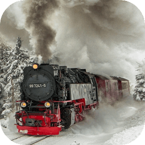 Download Steam train Live Wallpaper for PC