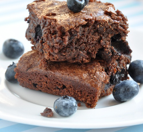 blueberry brownies 039