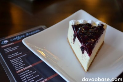 Blueberry Cheesecake at Coffee Dream