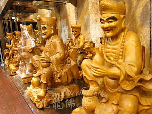 【没有喝很多酒的济公师傅】神明佛像木雕艺术济公