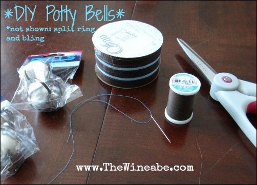potty bells materials